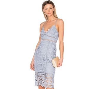 Bardot Light Blue Cocktail Dress